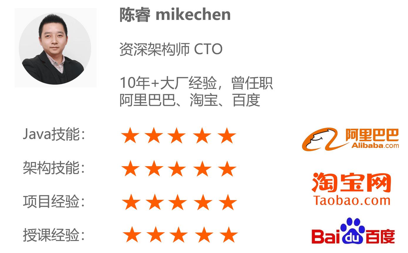 关于我-mikechen的互联网架构师之路